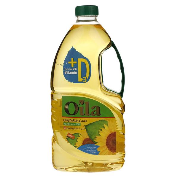 روغن مایع آفتابگردان ویتامینه اویلا -2 لیتر