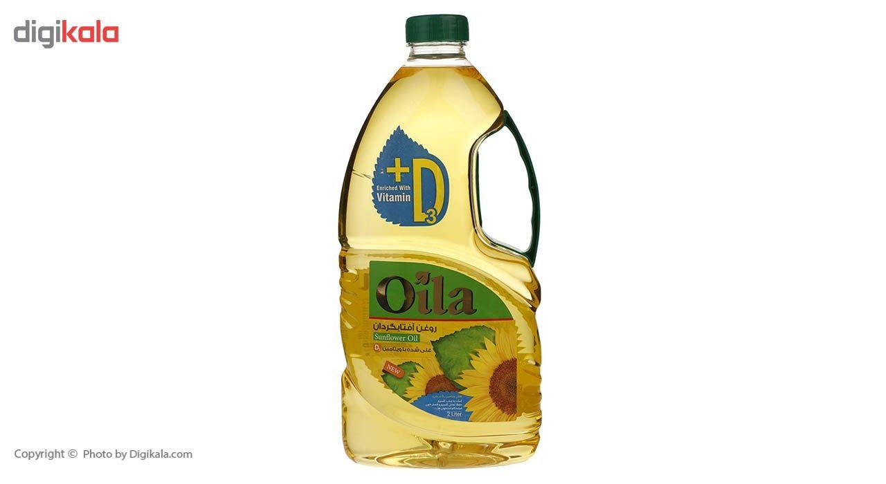 روغن مایع آفتابگردان ویتامینه اویلا -2 لیتر main 1 2