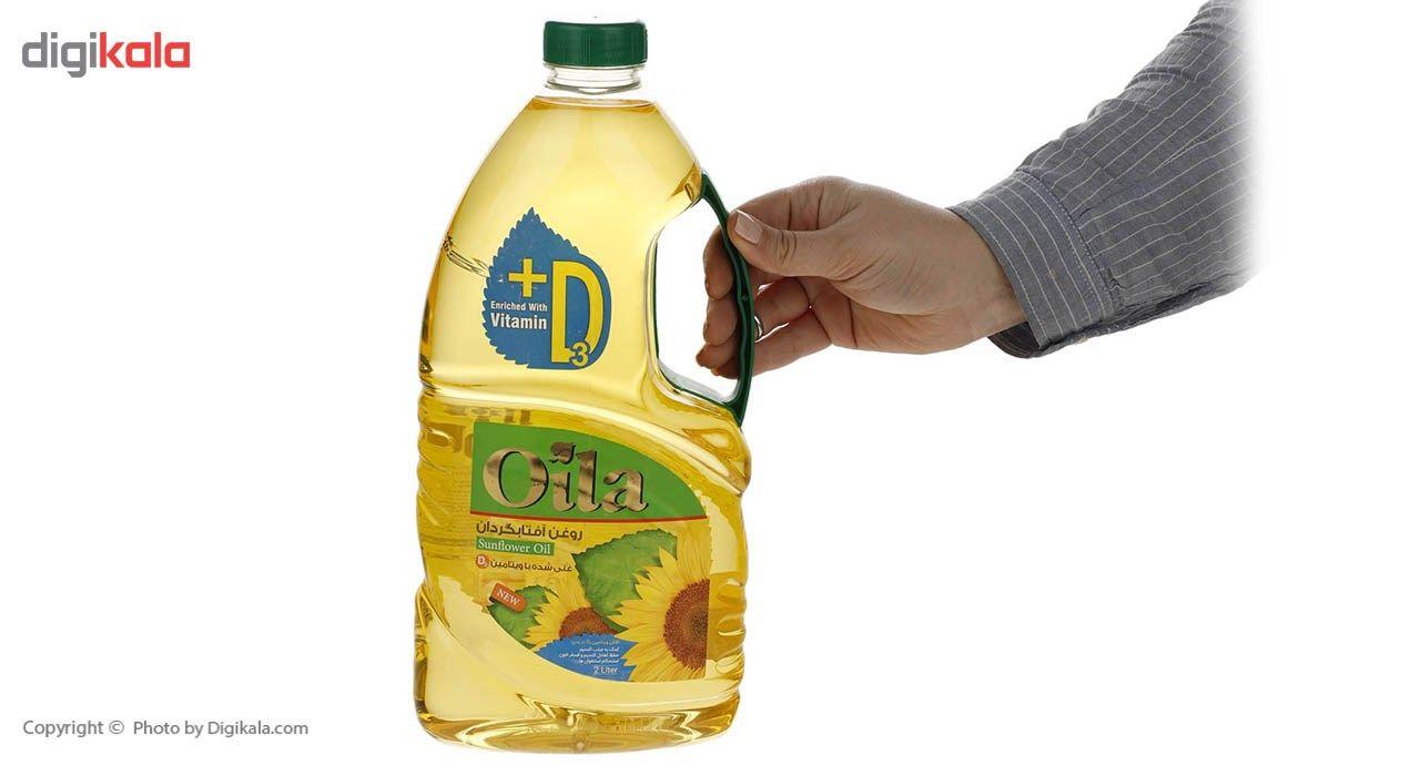 روغن مایع آفتابگردان ویتامینه اویلا -2 لیتر main 1 4