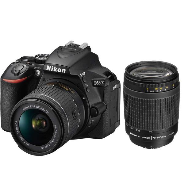 دوربین دیجیتال نیکون مدل D5600 به همراه لنز 18-55 و 70-300 میلی متر F/4-5.6G