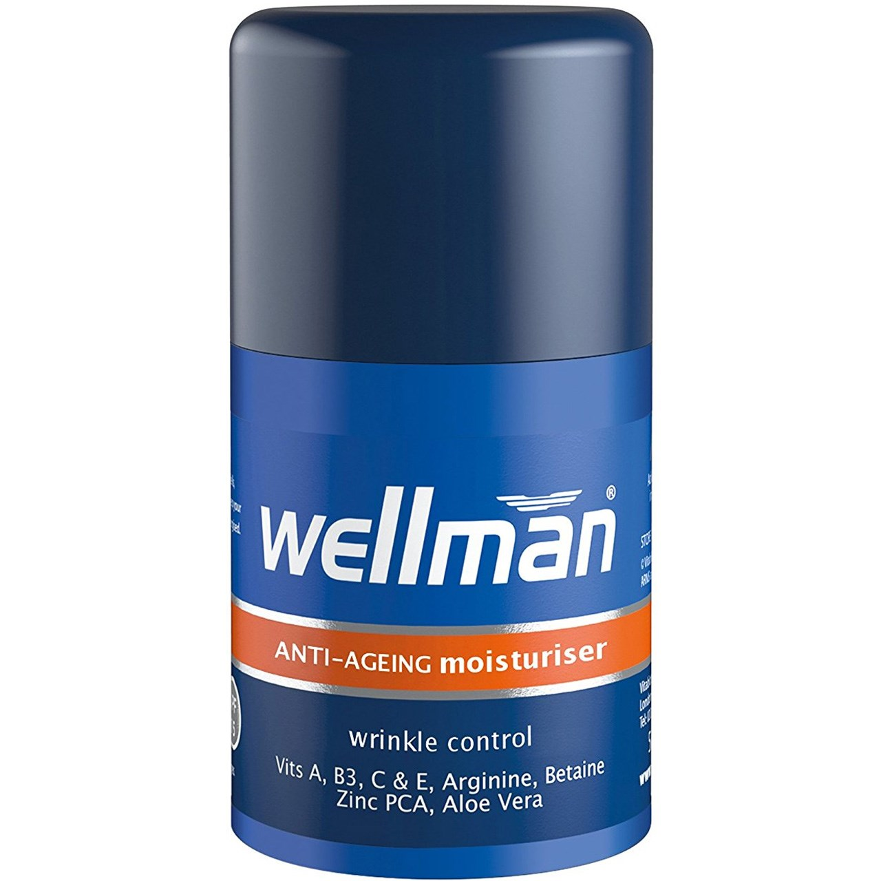 قیمت کرم ضدچروک مردانه ولمن مدل Wrinkle Control حجم 50 میلی لیتر