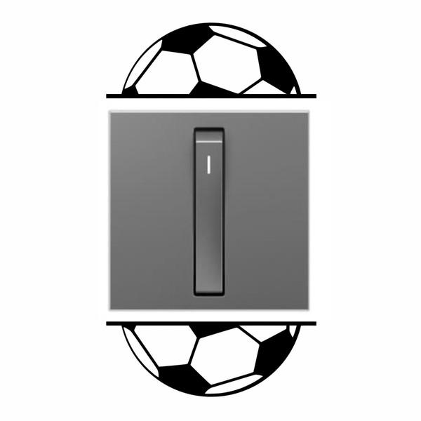 استیکر کلید و پریز مدل توپ