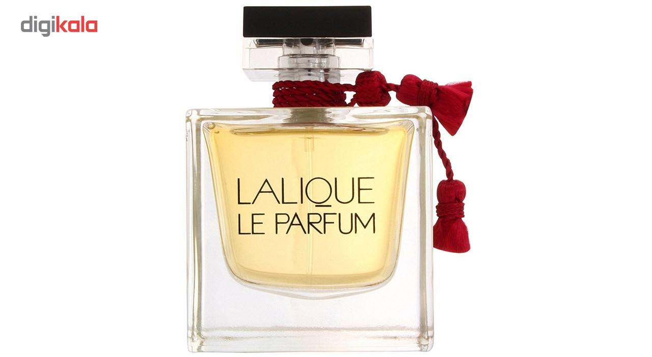 تستر ادو پرفیوم زنانه لالیک مدل Le Parfum حجم 100 میلی لیتر -  - 3