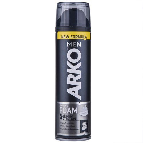فوم اصلاح آرکو مدل Platinum Protection حجم 200 میلی لیتر