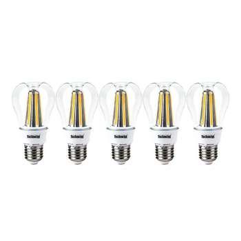 لامپ ال ای دی فیلامنتی 8 وات تکنوتل مدل 308 پایه E27 بسته 5 عددی