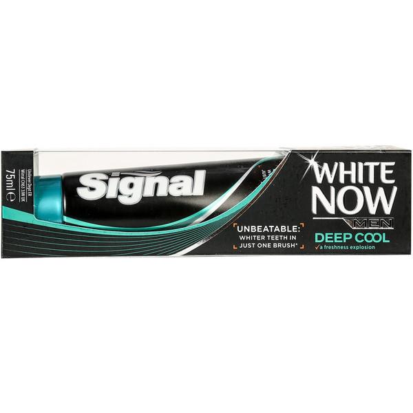 خمیر دندان سیگنال سری White Now مدل Deep Cool تیوب 75 میلی لیتر