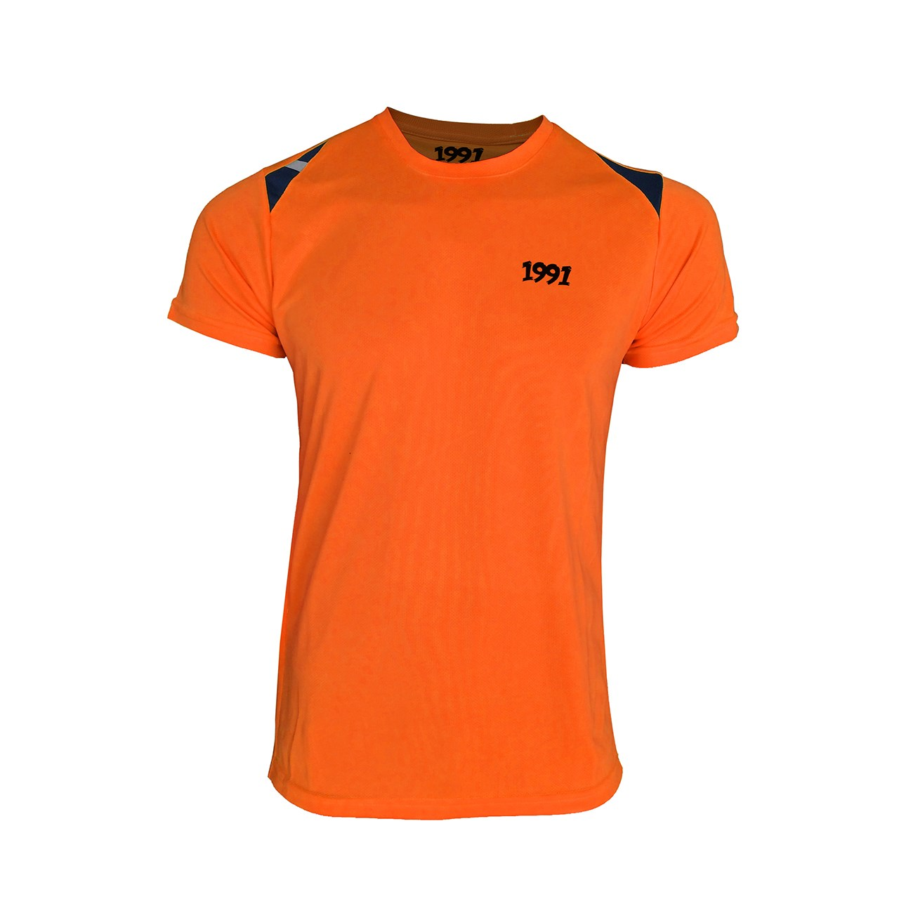 تی شرت مردانه 1991 اس دبلیو مدل Reflective Orangeblack