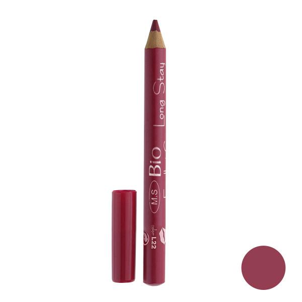 رژ لب مدادی بی یو مدل لانگ استار شماره L22