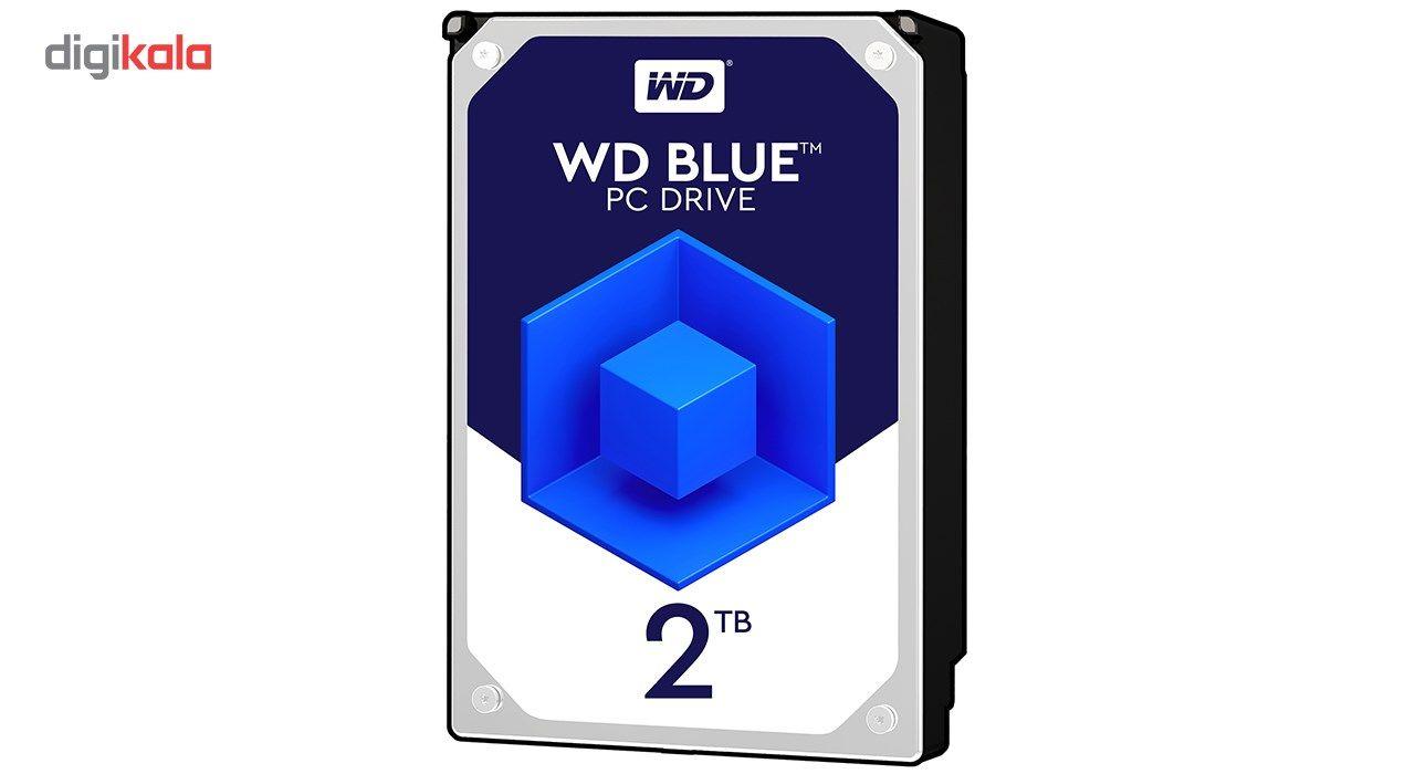 هارددیسک اینترنال وسترن دیجیتال مدل Blue WD20EZRZ ظرفیت 2 ترابایت main 1 1