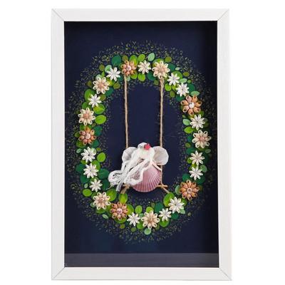 Photo of تابلو کلاژ صدف گالری هنر پویان بوشهر طرح بهشت کد 240001