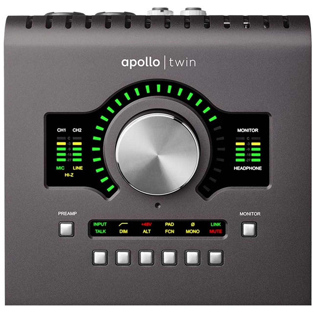 کارت صدای یونیورسال آودیو مدل Apollo Twin MKII Duo