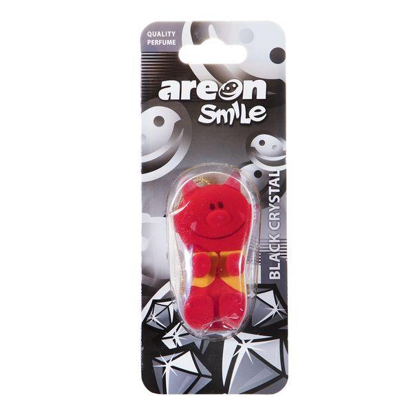خوشبو کننده ماشین آرئون مدل Smile Black Crystal
