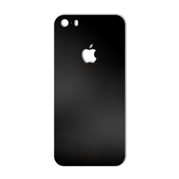 برچسب پوششی ماهوت مدل Black-color-shades Special مناسب برای گوشی  iPhone 5S-SE