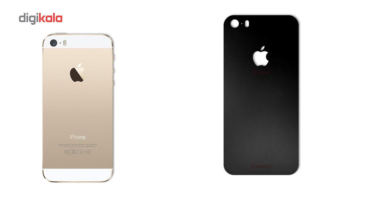 برچسب پوششی ماهوت مدل Black-color-shades Special مناسب برای گوشی  iPhone 5S-SE main 1 1
