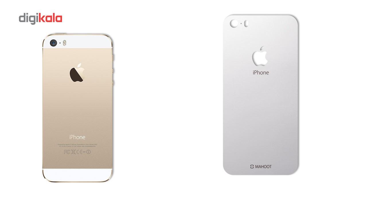 برچسب پوششی ماهوت مدل Black-color-shades Special مناسب برای گوشی  iPhone 5S-SE main 1 4