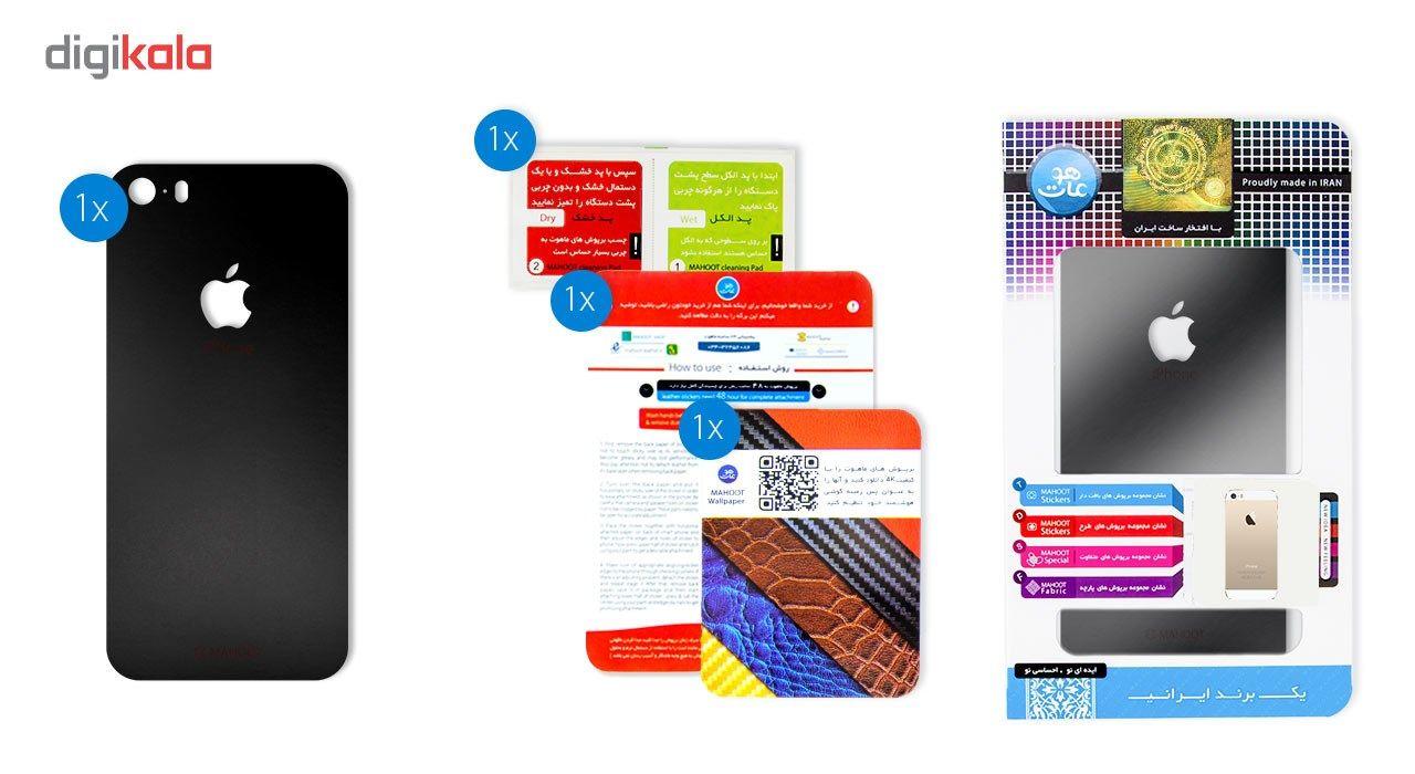 برچسب پوششی ماهوت مدل Black-color-shades Special مناسب برای گوشی  iPhone 5S-SE main 1 7