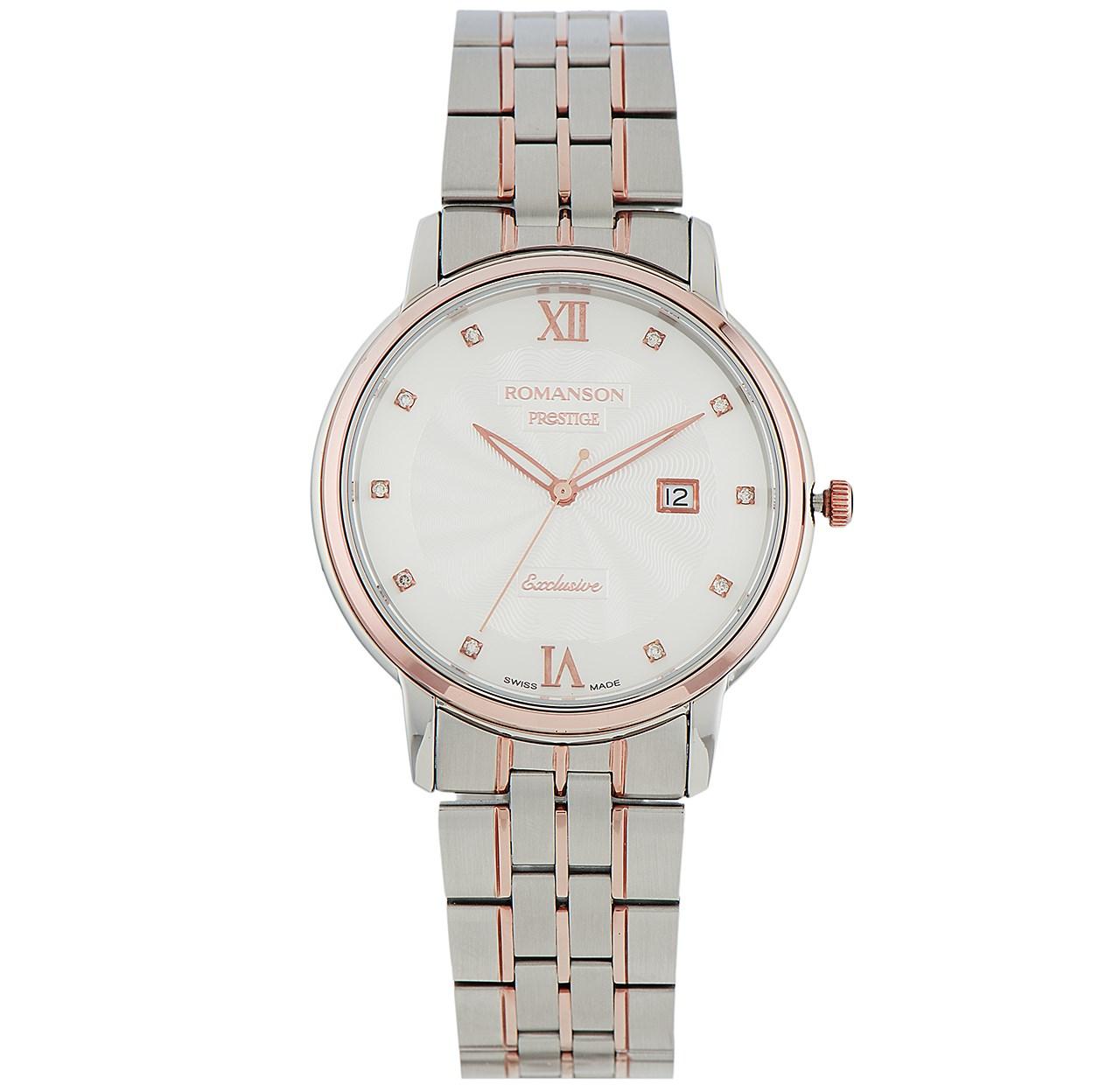 ساعت مچی عقربه ای مردانه رومانسون مدل TM3257MM1JAS6R