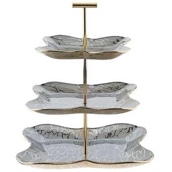 شیرینی خوری لورنزا مدل Parvane طرح 3