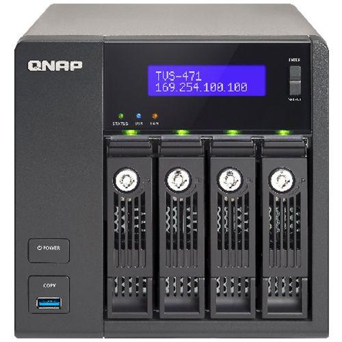 ذخیره ساز تحت شبکه کیونپ مدل TVS-471-i3-4G بدون هارددیسک