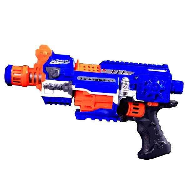 تفنگ Super Blaster با قابلیت پرتاب تیر اسفنجی