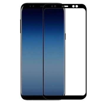 محافظ صفحه نمایش تمپرد مدل Full Cover مناسب برای گوشی موبایل سامسونگ Galaxy A8 2018