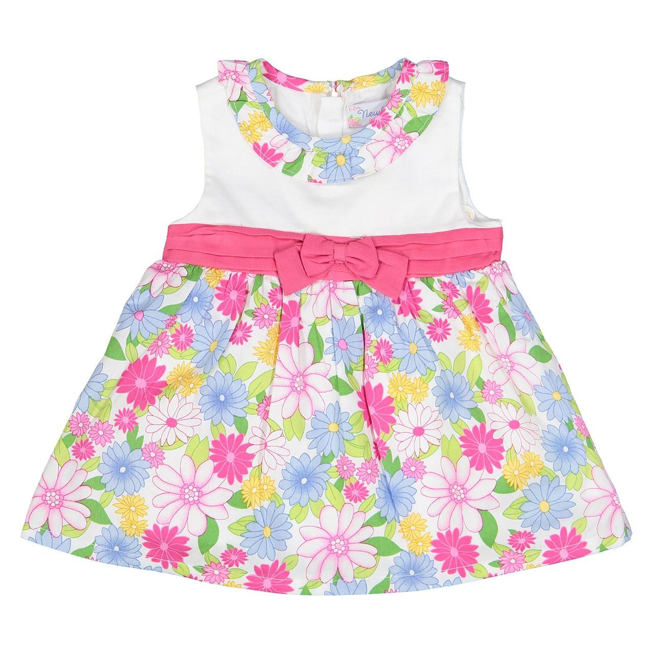 پیراهن نوزادی دخترانه  مایورال مدل MA 185055