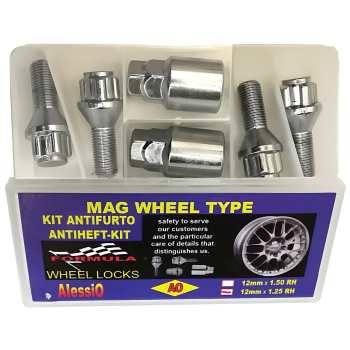 قفل رینگ چرخ آلسیو مناسب برای پژو 405
