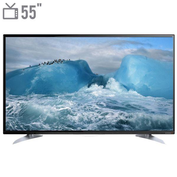 تلویزیون ال ای دی دوو مدل DLE-55H2200-DPB سایز 55 اینچ