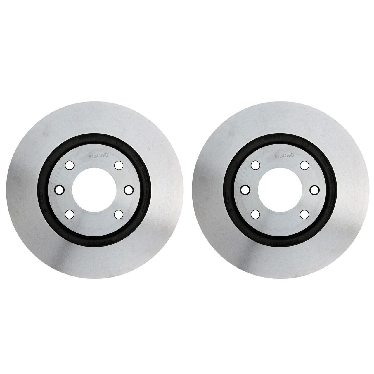 دیسک ترمز چرخ جلو گسترش وسایل خودرو آسیا بسته 2 عددی مناسب برای سمند ماندو