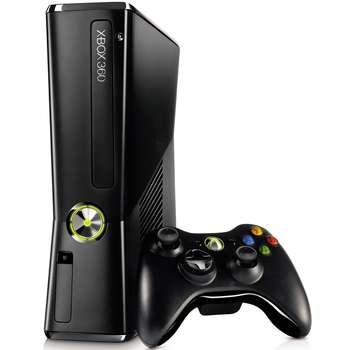تصویر کنسول بازی مایکروسافت مدل Xbox 360 Slim ظرفیت 250 گیگابایت Microsoft Xbox 360 Slim 250GB Game Console