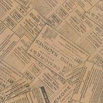 کاغذ کادو طرح روزنامه کد 03  thumb