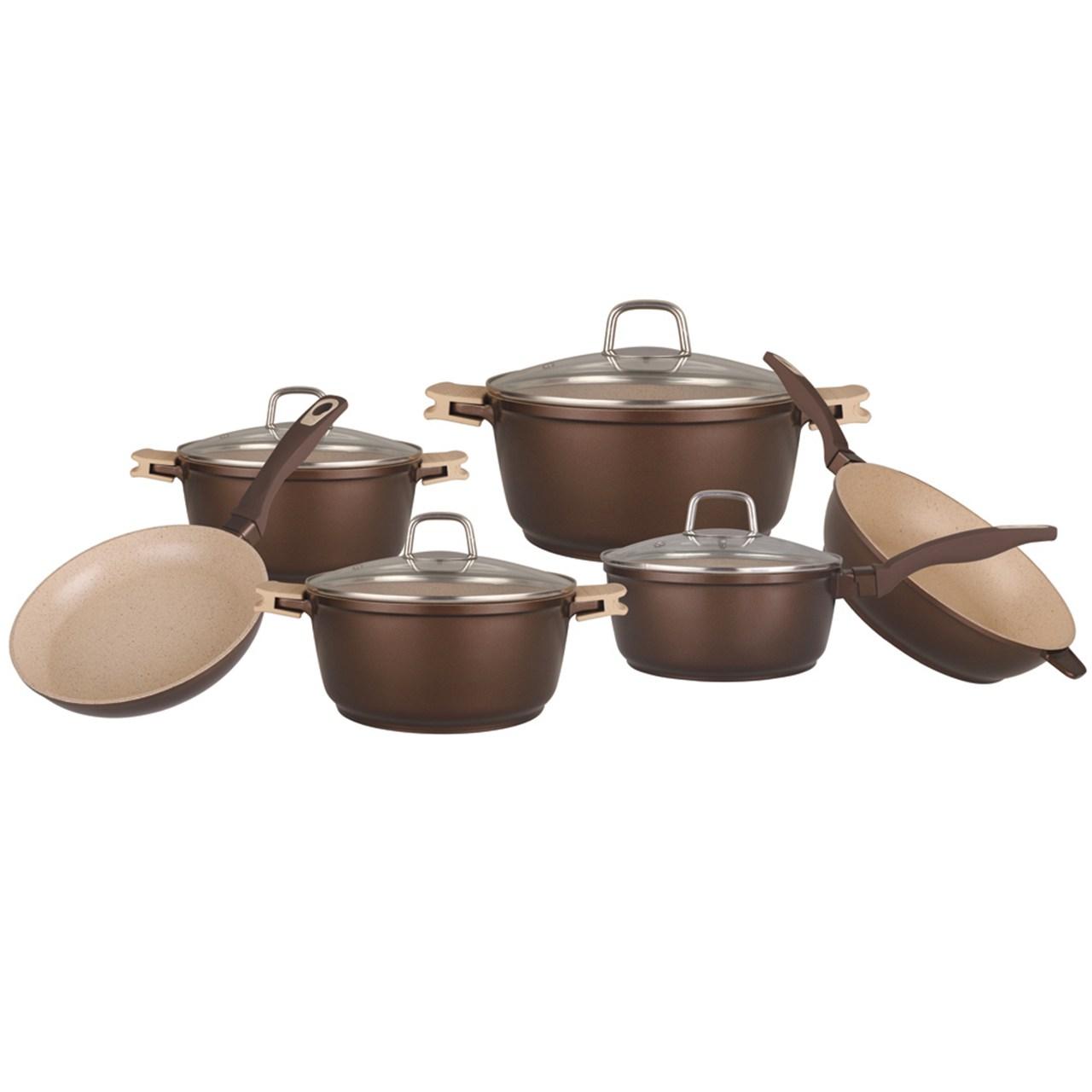 سرویس 10 پارچه آشپزخانه بلاومان مدل BL1538B