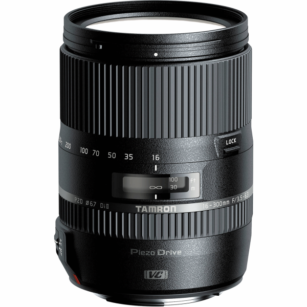 لنز دوربین تامرون مدل MACRO 16-300mm f/3.5-6.3 Di II VC PZD مناسب برای دوربینهای نیکون