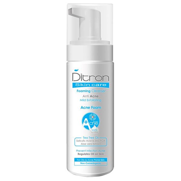 فوم شستشوی پوست دیترون مدل Anti Acne حجم 150 میلی لیتر