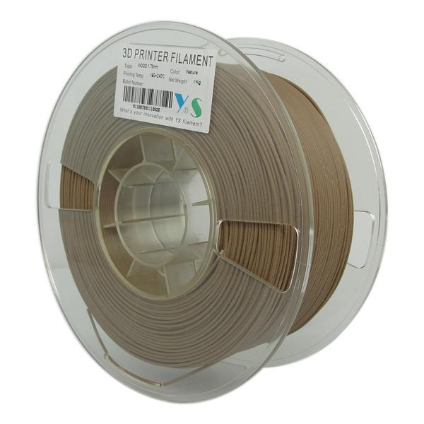 فیلامنت پرینتر سه بعدی PLA  چوب یوسو  1.75 میلیمتر   1 کیلو