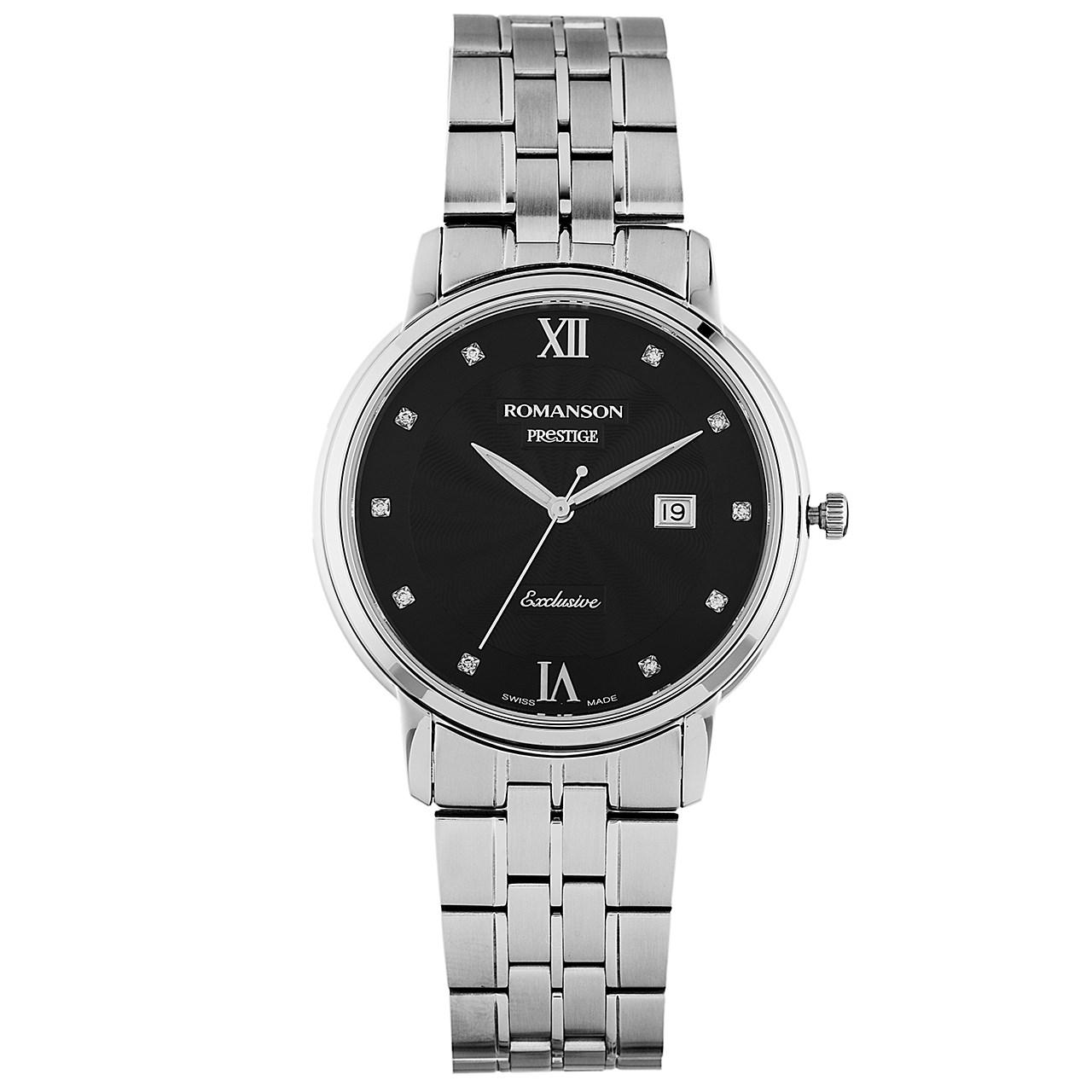 ساعت مچی عقربه ای مردانه رومانسون مدل TM3257MM1WA32W