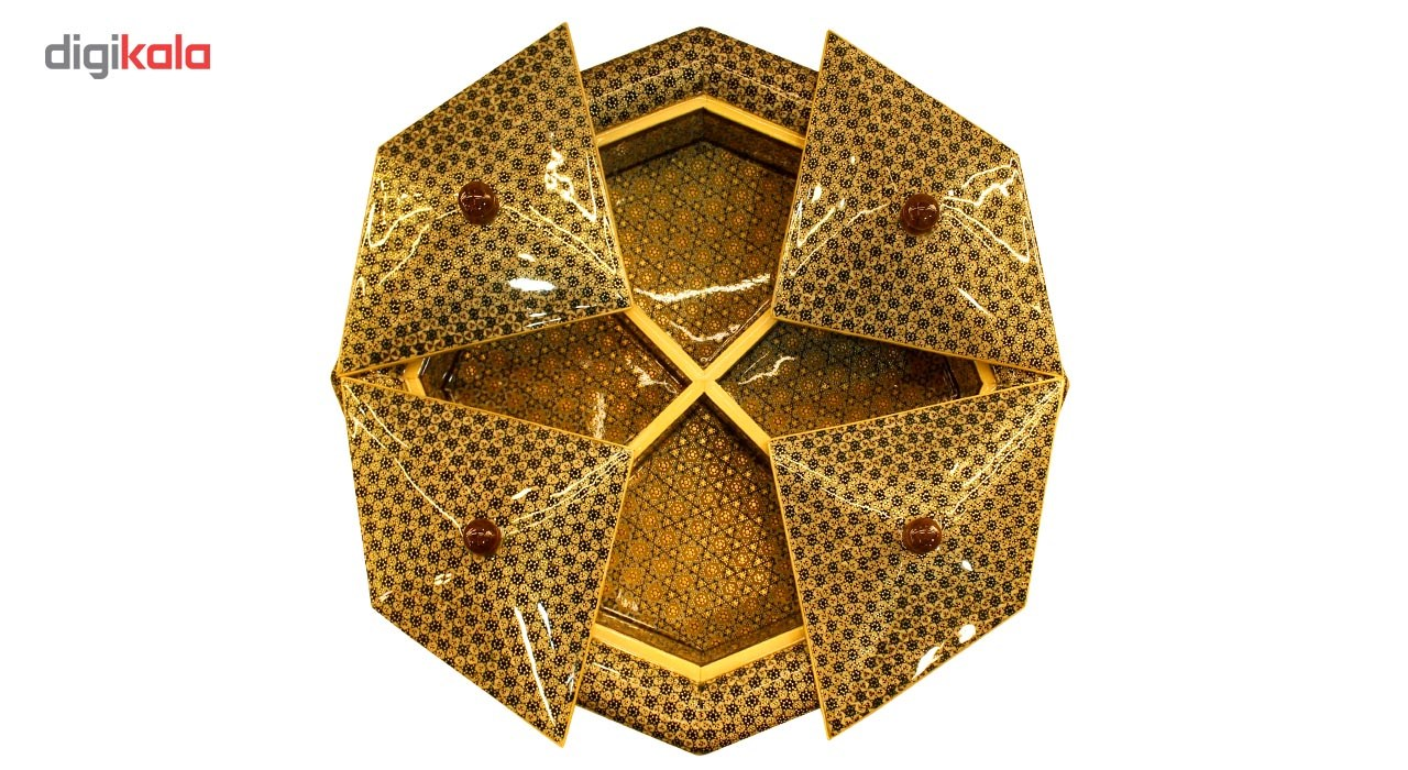 خرید                      شکلات خوری خاتم طرح چهار در مدل 348703 جعفری جبلی