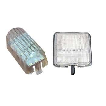 چراغ سقف و صندوق خودرو تک لایت مدل AM 5964 مناسب برای پراید مجموعه 2 عددی