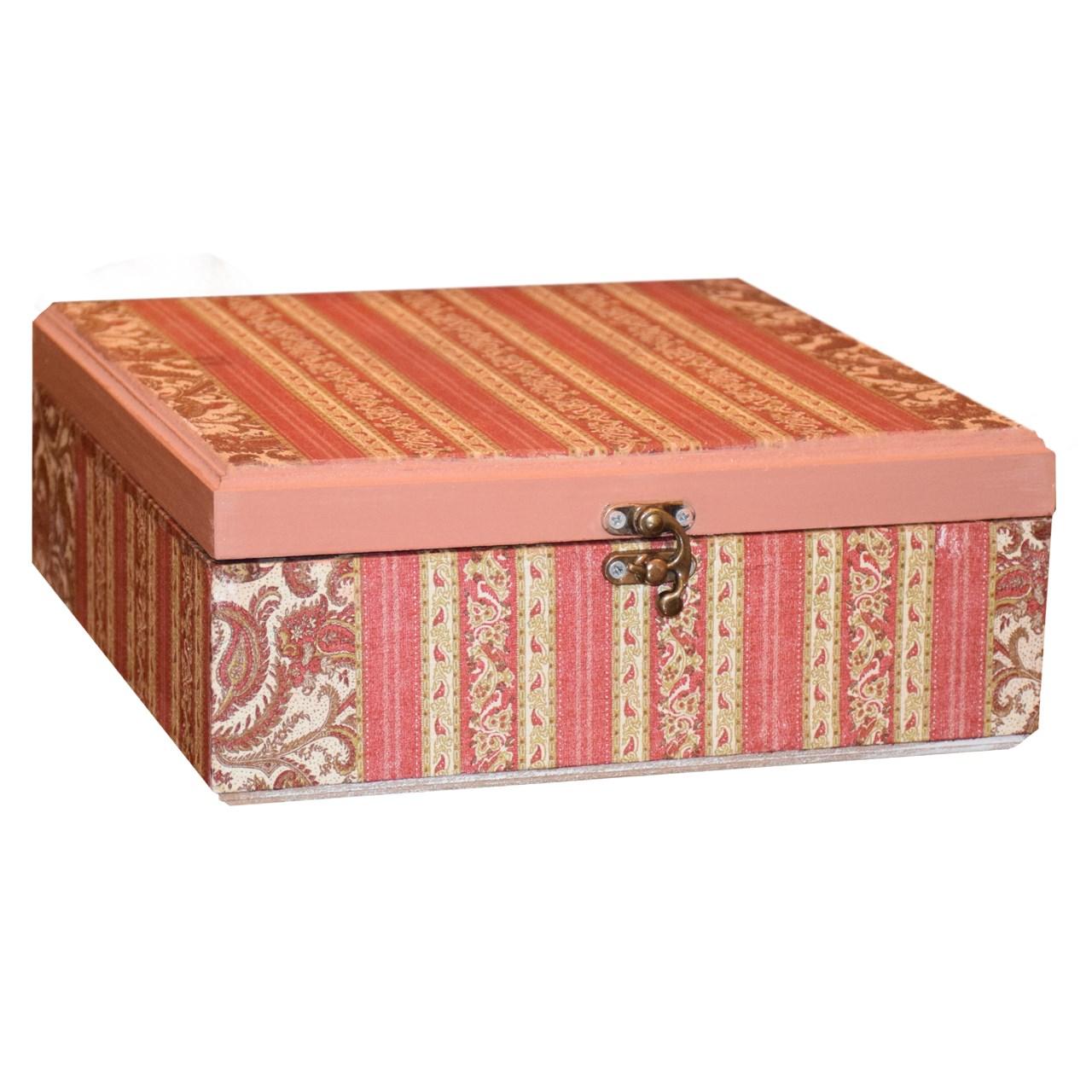 جعبه چای کیسه ای بهار طرح سروناز مدل 003