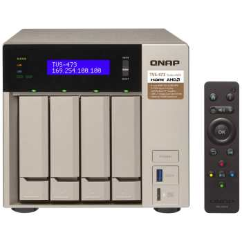 ذخیره ساز تحت شبکه کیونپ مدل TVS-473-8G | Qnap TVS-473-8G NAS