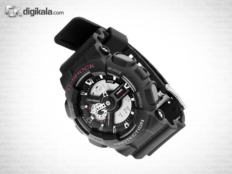 خرید ساعت مچی عقربه ای مردانه کاسیو جی شاک GA-110-1ADR