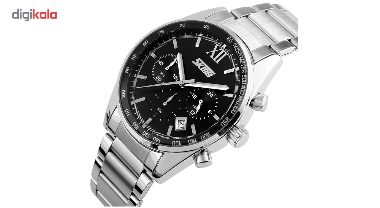 ساعت مچی عقربه ای مردانه اسکمی مدل S9096/Black