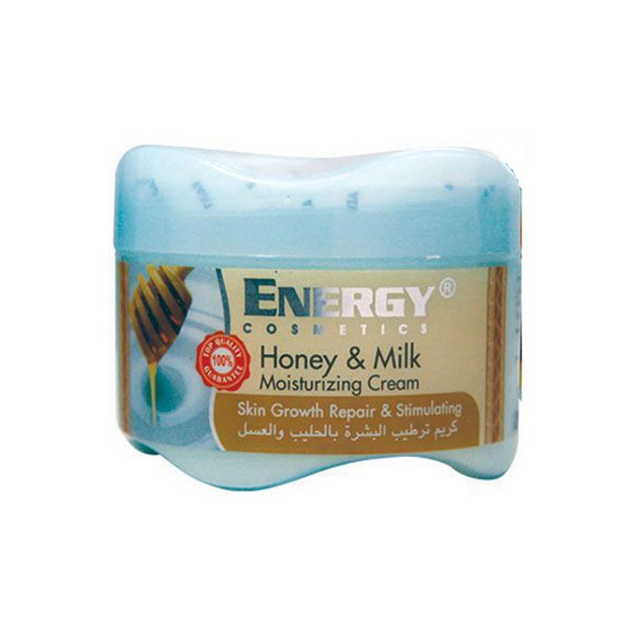 کرم مرطوب کننده انرژی مدل شیر و عسل حجم 250میلی لیتر