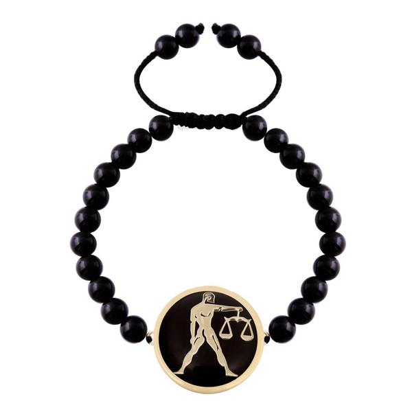 دستبند طلا 18 عیار مرجان مدل 065