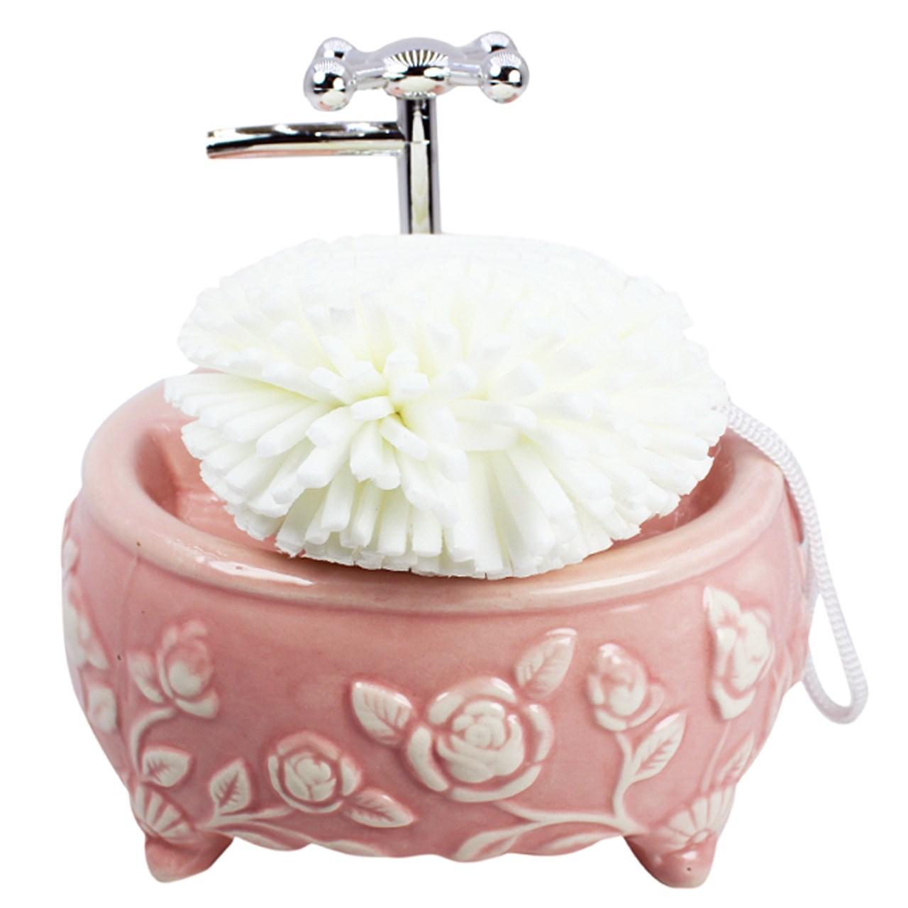 پمپ مایع ظرفشویی مدل Flower  01