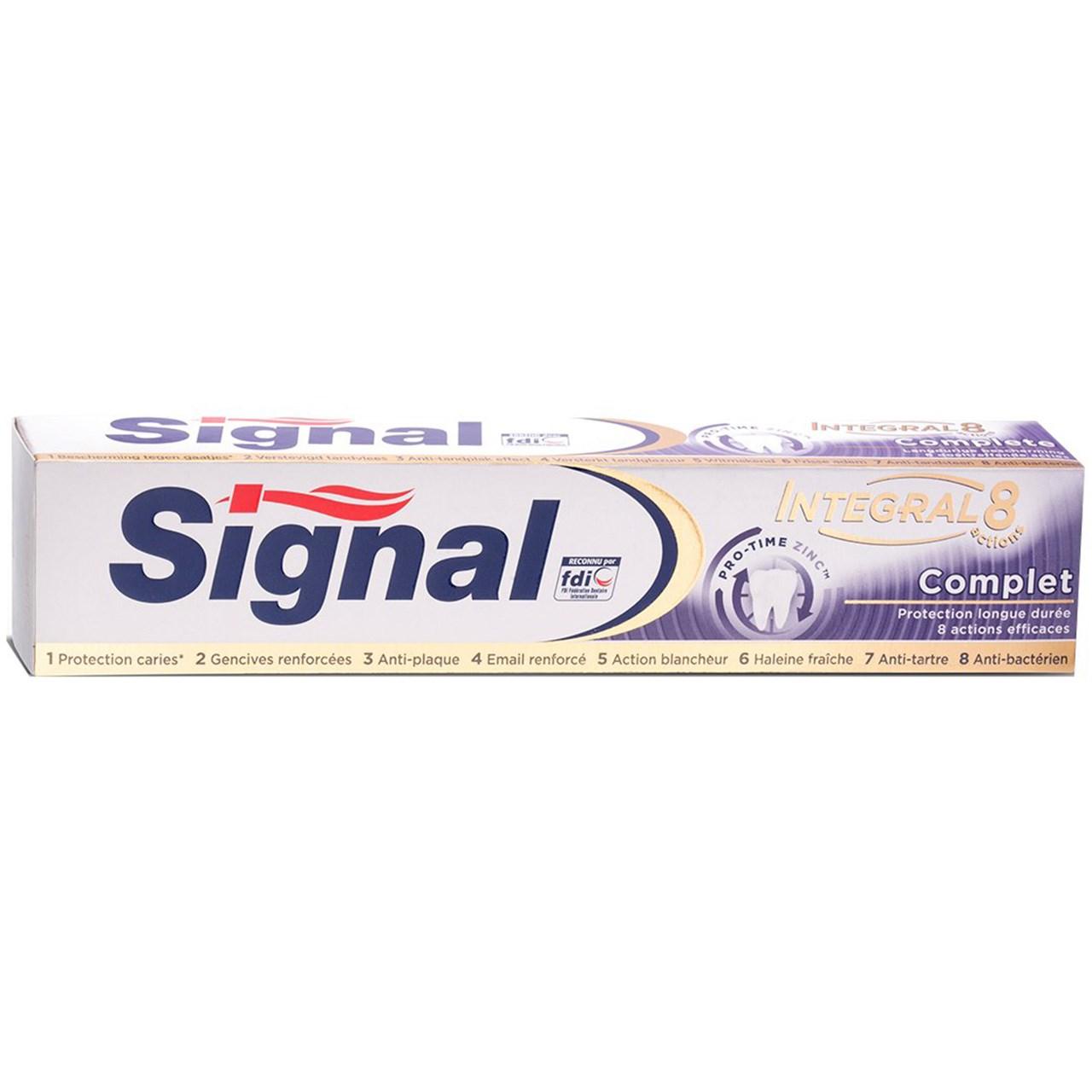 قیمت خمیر دندان سیگنال مدل Complet حجم 75 میلی لیتر