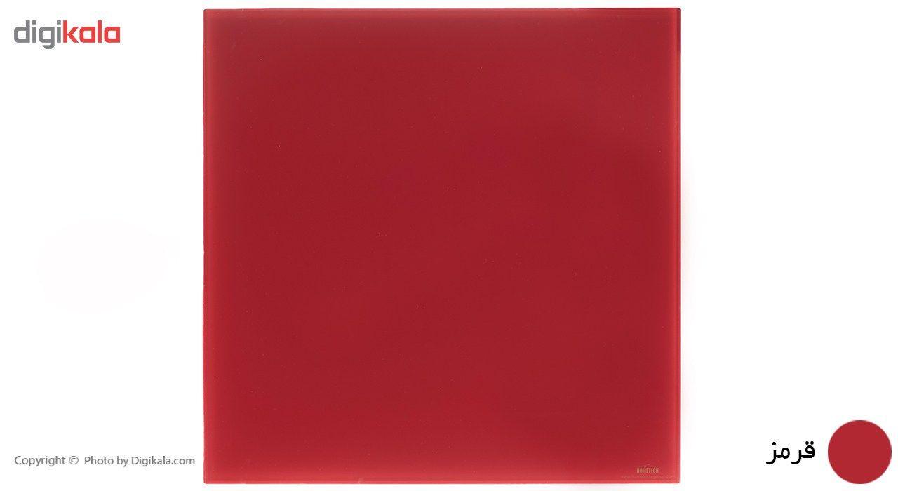 برد شیشه ای هوم تک مدل Color Board سایز 45 × 45 سانتیمتر
