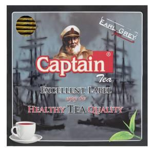 چای کاپیتان تی بگ عطری پاکتدار 100 عددی