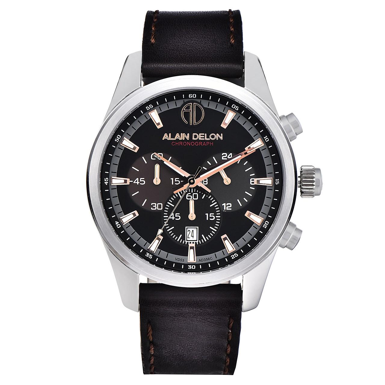 ساعت مچی عقربه ای مردانه آلن دلون مدل AD356-1349C