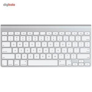 صفحه کلید بیسیم اپل مدل MC184LL/B  Apple Wireless Keyboard MC184LL/B